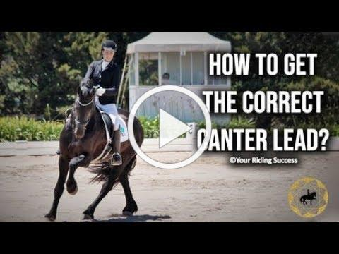 How To Get The Correct Canter Lead? (Dressage Mastery TV Ep259)