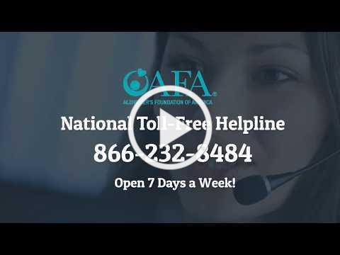 AFA's National Toll-Free Helpline