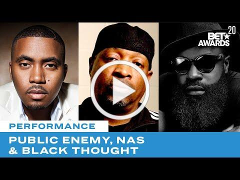 Public Enemy Is Joined By Nas, Black Thought & More For Rendition of Fight The Power | BET Awards 20