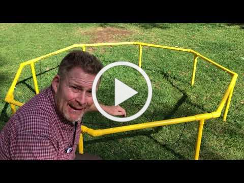 Training Wheels Spider Web Assembly Tutorial for Bungee Box - House Trap Activity
