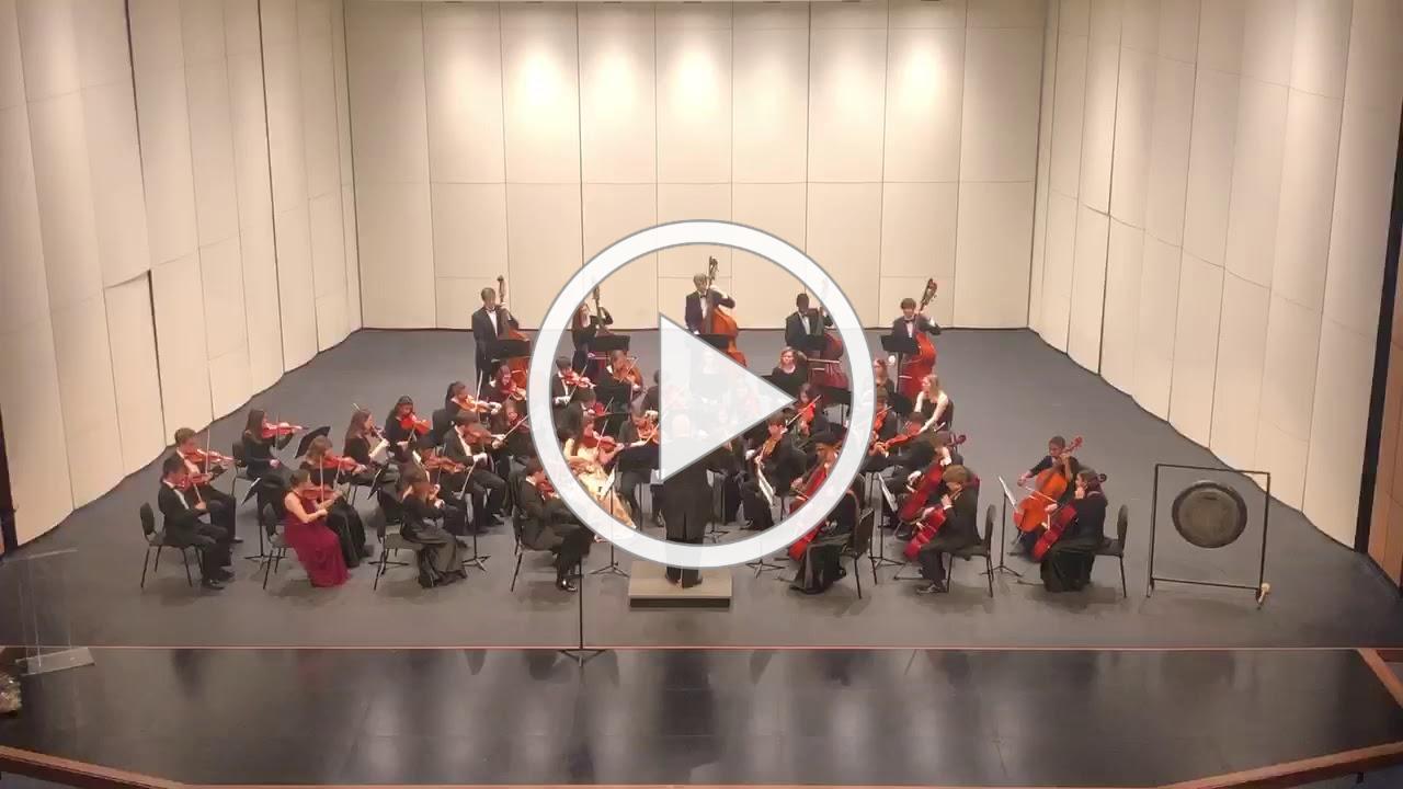 Spartanburg High School Chamber Orchestra at D7 Fine Arts Center