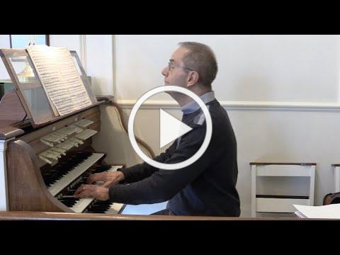 Virtual Organ Concert, Mark Meyer, November 22nd at 4.00pm