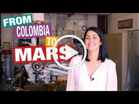 From Colombia to Mars - Behind the Spacecraft - Perseverance