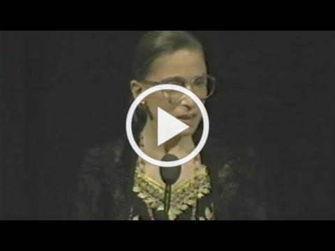 Ruth Bader Ginsburg 2001 Speech to Society for Women's Health Research