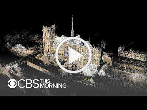 3D scans of Notre Dame could prove pivotal in its reconstruction