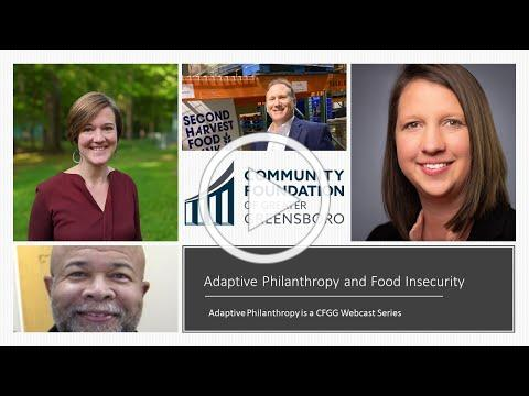 Adaptive Philanthropy Series: Nonprofit Panel Focused on Food Insecurity