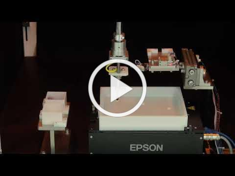 Epson Part feeding system supports various kinds of parts | iREX2019 国際ロボット展2019
