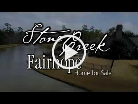 Stone Creek Fairhope 4BR +Office, +Theatre, 4.5BA Home w/Outdoor Kitchen for Sale