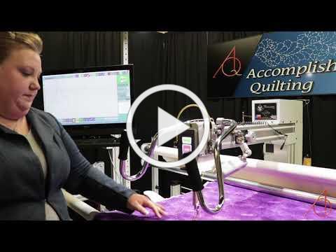 Fixing a Thread Break on an Innova Longarm Quilting Machine