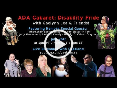 Gaelynn Lea Live-Streamed Concert for the Americans w/Disabilities Act: Sunday, July 26th @ 4pm CDT!