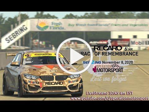 Operation eMotorsport - iRace of Remembrance