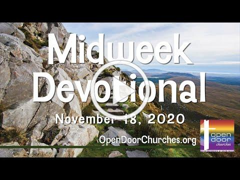 Open Door Churches Midweek Devotional by Charles Wallace - 11-18-20