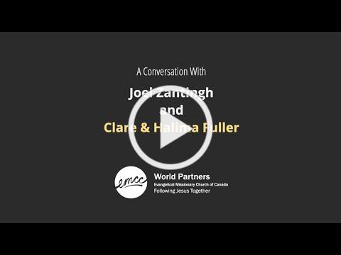 Clare & Halima Fuller Interview with Joel Zantingh | World Refugee Week | EMCC World Partners