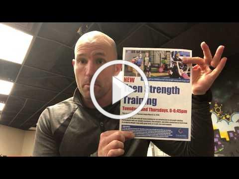 Fit Tip of the Week -- March 8, 2018 - Teen Strength Training