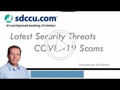 Cybersecurity & COVID-19 Scams presented by Jim Stickley (Full Webinar)