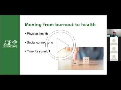 Avoiding Caregiving Burnout During COVID-19