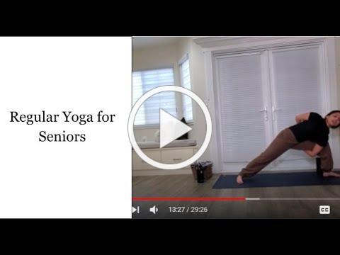 Regular Yoga for Seniors