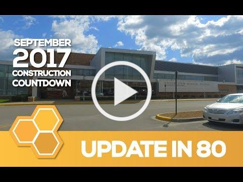EPS Construction Update in 80 - South View Middle School (September 2017)