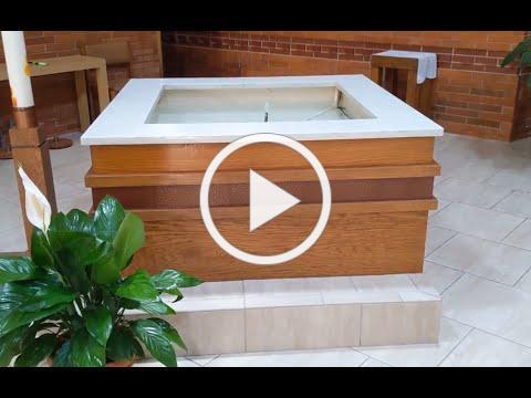 Baptismal Font is full 2021
