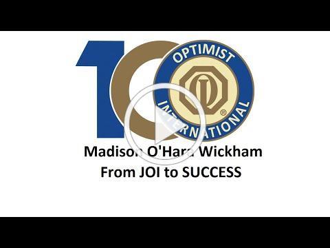 Optimist Story by Madison O'Hara Wickham