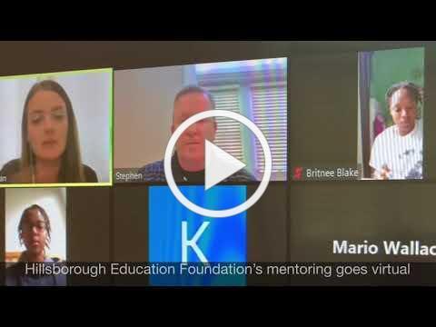 Hillsborough Education Foundation mentoring goes virtual