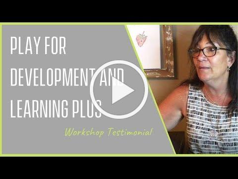 Play for Development and Learning PLUS - Testimonial