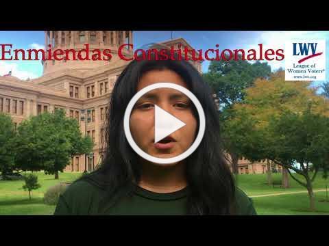 Le Animamos a Votar el 7 de Noviembre Sobre las 7 Enmiendas Constitucionales