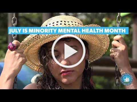 Minority Mental Health Month 2020