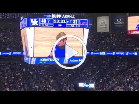 UK/LSU Kentucky CancerLink and Anthem Halftime Video