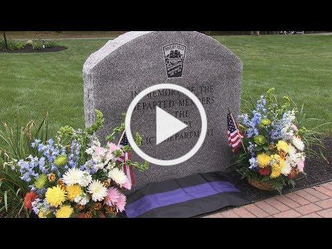 Duxbury Police Officer Melvin Dyer Memorial Dedication