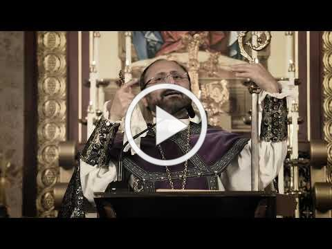 Bishop Sahak Mashalian's Sermon