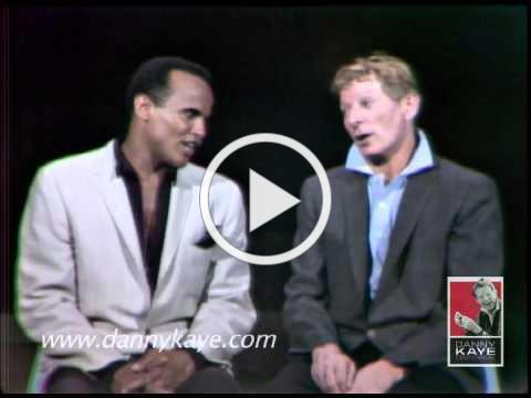 "Danny Kaye & Harry Belafonte sing ""Hava Nagila"" 1965"
