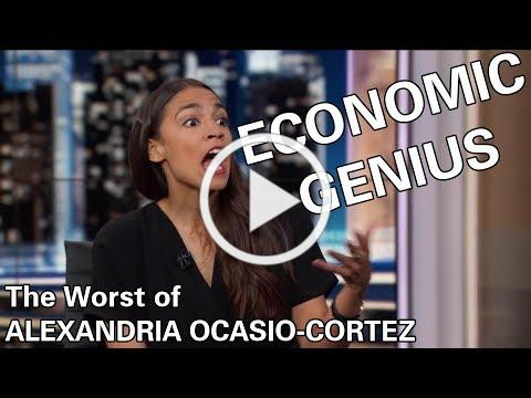 Alexandria Ocasio-Cortez: Economic Genius