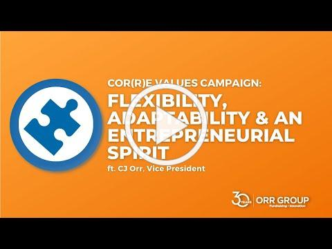 Orr Group's 30th Anniversary Cor(r)e Value: Flexibility, Adaptability & an Entrepreneurial Spirit
