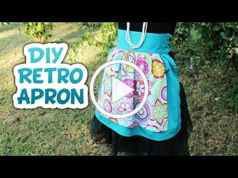 Retro Half Apron How to - Whitney Sews