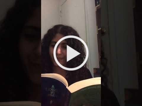 Leila Reads A Wrinkle in Time