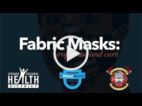 Care and Use of Fabric Masks