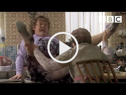 Agnes gets herself into a sticky situation | Mrs Brown's Boys - BBC