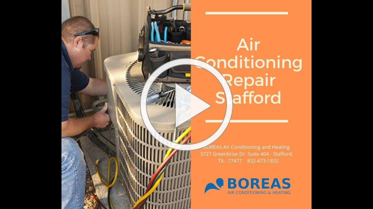 Air Conditioning Repair Stafford - BOREAS Air Conditioning and Heating