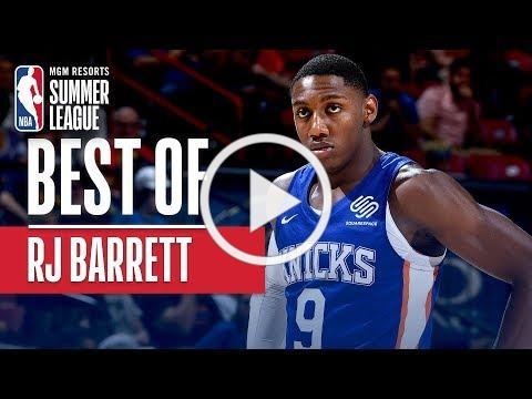 Best of RJ Barrett | MGM Resorts NBA Summer League