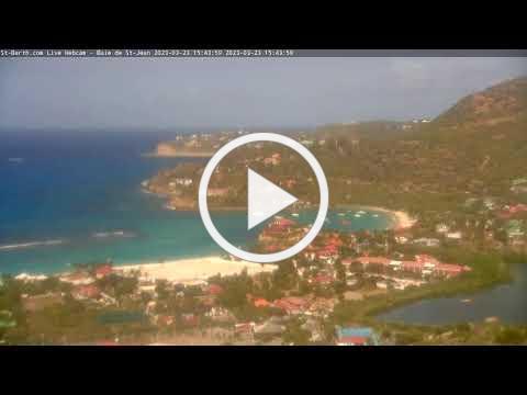 St-Barth.com Live Webcam - Baie de St-Jean