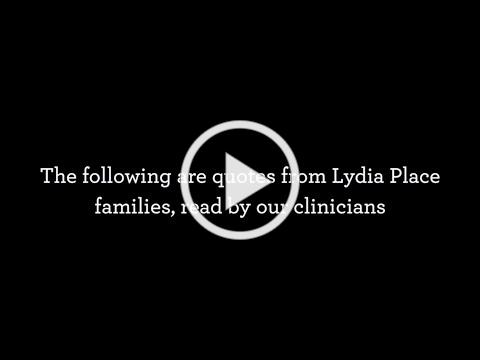 Lydia Place Mental Health Program Client Testimony