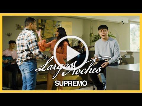 Largas Noches - (Video Oficial) - Supremo - DEL Records 2021