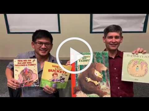Fremont Library Storysigning with Stanley Matsumoto & Jay Thexton
