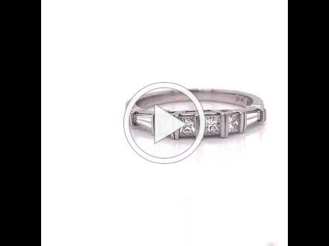 MDJ Advantage - Jude Frances - D.61 cttw Diamond Band Plat. - Dominic Mainella - 4009419