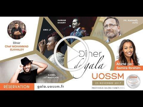 Grand dîner de gala caritatif de l'UOSSM - réservez vos places !