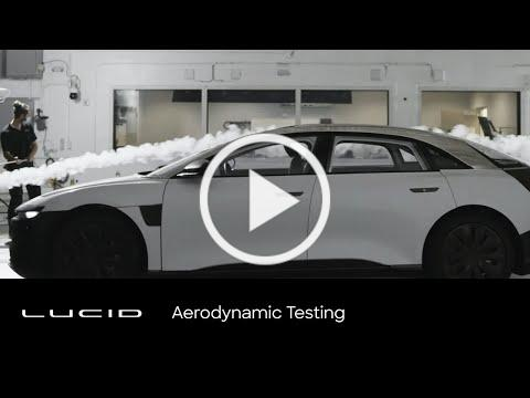 Lucid Air | Aerodynamic Testing