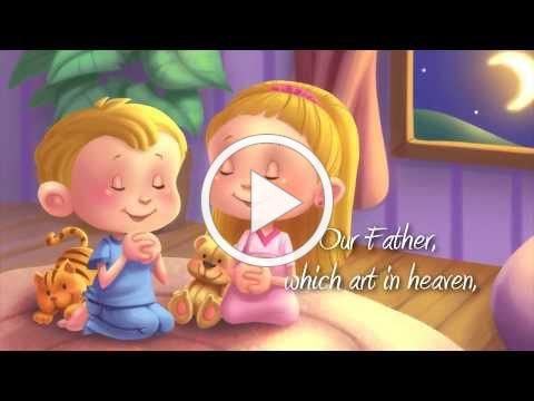 The Lord's Prayer Song for Kids 🙏 Our Father in Heaven for Children