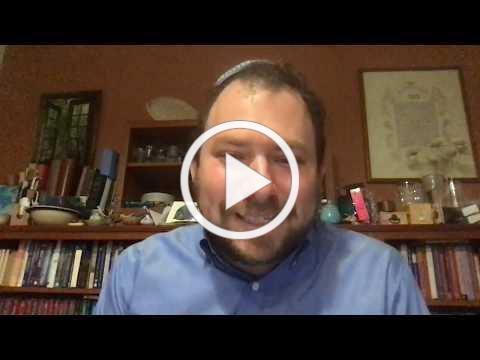 Pre Shabbat Dvar Torah Acharei Mot Kedoshim 5780