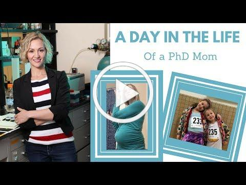A Day in the Life of a PhD Mom | Ivy League, Kids, and Pregnancy